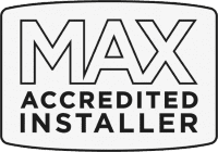 MLT Plumbing & Heating Plymouth - Max Accredited Logo
